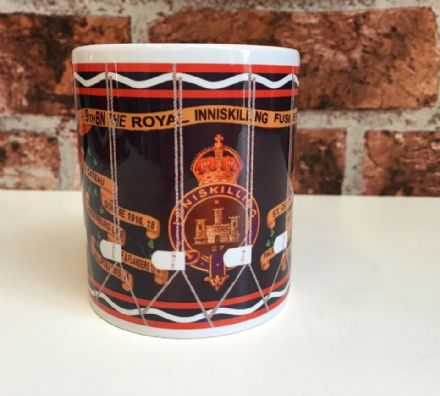 9th Bn The Royal Inniskilling Fusiliers Drum Mug